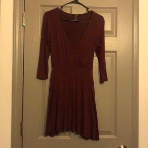 Forever 21 V neck dress